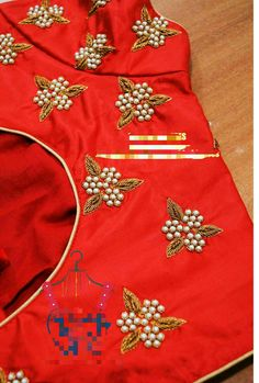 End Customization with Hand Embroidery & beautiful Zardosi Art by Expert & Experienced Artist That reflect in Blouse , Lehenga & Sarees Designer creativity that will sunshine You & your Party. Cutwork Blouse Designs, Simple Blouse Designs, Simple Designs, Hand Work Design, Hand Work Blouse Design, Hand Work Embroidery, Hand Embroidery Designs, Zardosi Embroidery, Embroidery Stitches