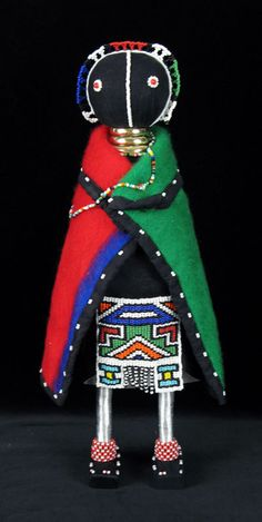 Ndebele doll. South Africa. Every child should have one.
