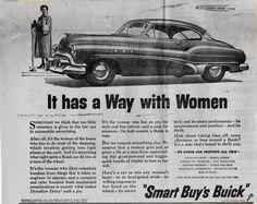 1950 Buick Ad.