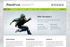 Freestyle responsive theme