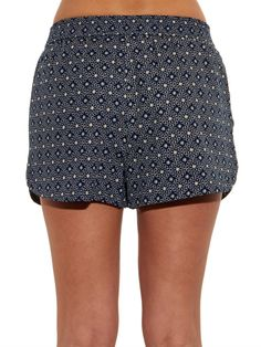 See by Chloé Floral-print cotton shorts