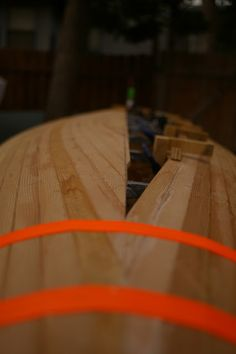 Cedar Strip Canoe Build