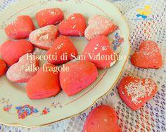 Biscotti+di+San+Valentino+alle+fragole