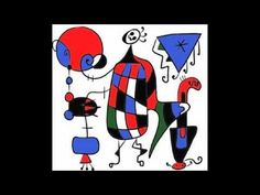 Inspired by Joan Miro - Art Journals Online Art Prompts with Milliande