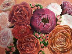 Paper Illustration, Watercolor, Rose, Garden, Artist, Flowers, Plants, Instagram, Pen And Wash