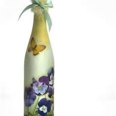 Image Search Results for decoupage bottles