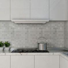 Heat Resistance Waterproof Mosaic Anti-Oil Wallpaper
