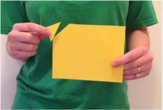 Kindness lesson- If you have four corners on a sheet of paper, and cut one corner off to give to a friend, how many corners are left? (the more kindness you give, the more you have)