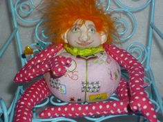 pinelope pincushion dolls  decorative sewing by beadingbetz, $24.99