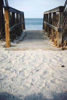 On a day when the or a beach is empty (ahem)... run along the ocean in my bare feet :D