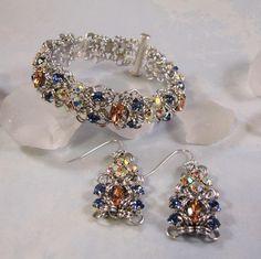 Marchioness of Diamonds Bracelet Kit Silver Blush Pink &