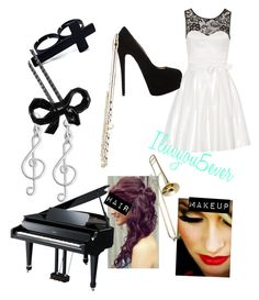 """""""Preforming at a concert/ recital"""" by iluvyou5ver ❤ liked on Polyvore featuring Giani Bernini, Giuseppe Zanotti, Cor Sine Labe Doli, Ravel, LE'VAR, music, formal and ilovemybabays"""