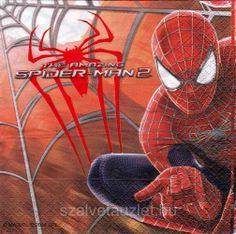 Szalvéta i5197 Spider Man 2 - Szalvétaüzlet - Szalvéták és decoupage kellékek árusítása nagy választékban.