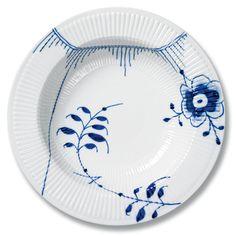 Royal Copenhagen Blue Fluted Mega Deep plate/ serving dish 30 cm - #1