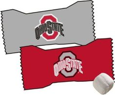 Ohio State Tailgate Candy Mint Favors - Decorate Your Tailgate Party Table and Cheer on Your Team with This Officially NCAA Licensed Ohio State Candy. Contains Approx. 50pc Per 7oz Bag.: Other schools available.