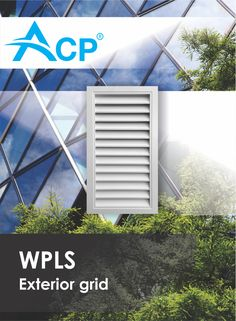 Exterior grid WPLS Air Supply, Ventilation System, Grid, Home Appliances, Exterior, Products, House Appliances, Appliances, Outdoor Rooms