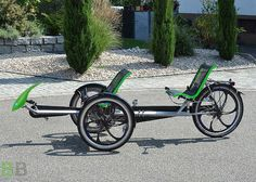"Tandem recumbent bikes ""ВВ"" 