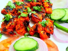 "The ""Fish Tikka"" is a popular Asian dish and is traditionally grilled with skewers on small pieces of boneless fish pieces(fillets) in Grill oven, after marinating in spices and yogurt. For more details about the menu visit our website www.tandooriwala.com"