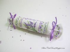 Silver's Journal - Мои разноцветные крестики: Лавандовый батончик / Lavender Needleroll