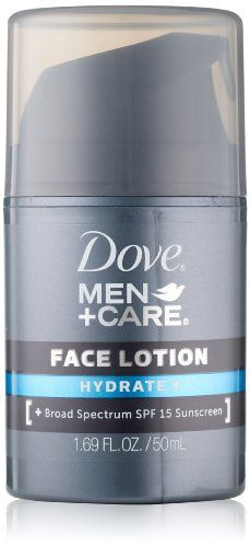 Dove Men+Care Hydrate + Face Lotion - http://www.mensgroomingstuff.com/dove-mencare-hydrate-face-lotion/