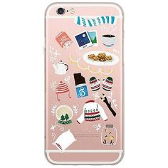 Favorite things in Winter. Soft Case Durable High Quality Easy Port Access Available for iPhone 5 5s, 6 6s