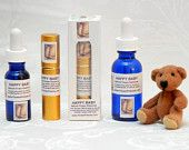 HAPPY BABY Calm your fussy child naturally. Spray Lavender/Chamomile Flower Essences in your child's mouth to SOOTHE cranky moods and tantrums.