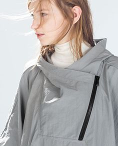 ZARA - SALE - WATERPROOF PONCHO