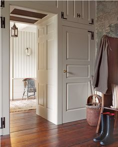 Gil Schafer, Willow Grace Farm mudroom