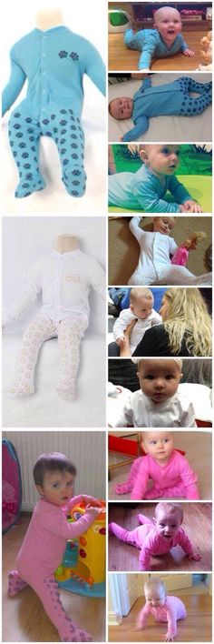 Crawlerz Safety Rompers provide Anti-Slip protection to your little ones as they master their early developmental milestones giving you peace of mind.  www.crawlerz.co.uk