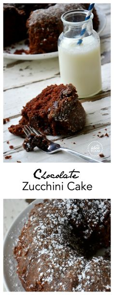 Who knew eating their vegetables could be so delicious? You won't even know this has Zucchini in it! Chocolate Zucchini Cake Recipe