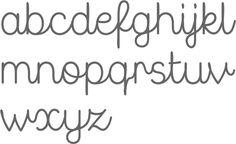 MyFonts: Cursive script typefaces