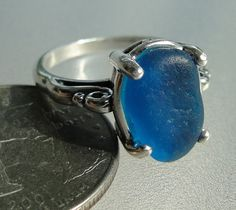 HL Sea Glass & Beach Glass Jewelry, our latest sea glass rings!