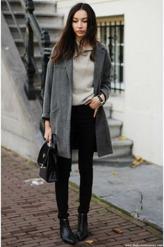 nice gray Sweater..