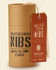 askinoise chocolate packaging design 4 - I like this containter!