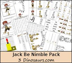 Free Jack Be Nibmle - 3Dinosaurs.com