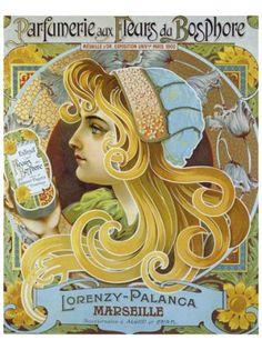 vintage perfume ads