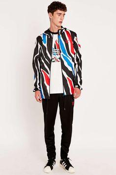 adidas Zebra Print Full Zip Jacket