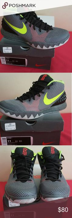 Nike Kyrie 1 LMTD -TMBLD Grey Night SLY Size 11 Purchased from Nike for $105 just 2 months ago and worn them just 5 times. Shoes is in excellent shape and condition and rated 9.5/10. Show just minimal sign of use and guaranteed to be 100% authentic nike merchandise. Nike Shoes Sneakers