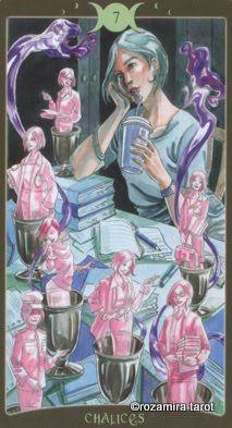 Tin mới Lá 7 of Chalices - Book of Shadows Tarot (So Below) bài tarot Xem thêm tại http://tarot.vn/la-7-chalices-book-shadows-tarot/