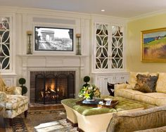 Traditional Living Room Ideas With Fireplace And Tv small living room ideas – decorating tips to make a room feel