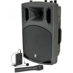 Mains Powered Systems : QX12 200w Sound System + Inbuilt Mic System with Upgraded Fitness Headset + Spare
