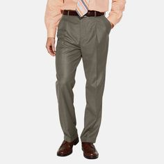 Croft Barrow Mens Dress Pants True Comfort Classic Pleated Cuffed size 38 40 NEW Slacks, Khaki Pants, Mens Dress Pants, Men's Pants, Brooks Brothers Men, Dressed To The Nines, Golf Shirts, Pajamas, Classic