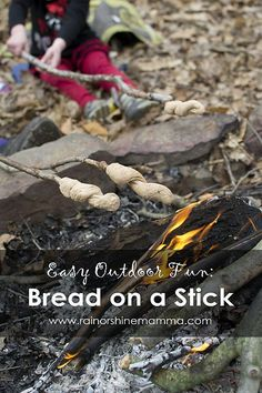 Easy Outdoor Recipe: Bread on a Stick
