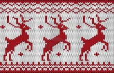Seamless Knitted Christmas Pattern Royalty Free Cliparts, Vectors, And Stock Illustration. Image 16132342.
