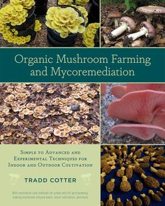 "An Exploration of the Magical World of Mushrooms - Chelsea Green : In his new book, ""Organic Mushroom Farming and Mycoremediation,"" author Tradd Cotter offers readers an in-depth exploration of best mushroom cultivation practices with the attitude that mushrooms can be grown on just about anything, anywhere, and by anyone.- Chelsea Green"