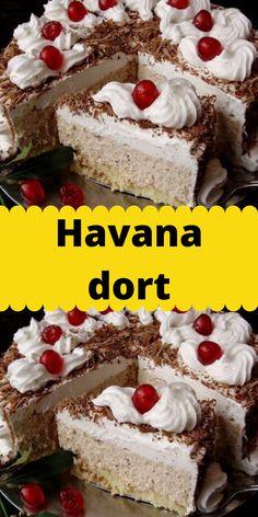 Havana, Tiramisu, Cake, Ethnic Recipes, Food, Luxury, Kuchen, Essen, Meals