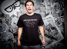 J!NX : Gamer T Shirt - MORE DOTS! T Shirt - Clothing Inspired by Video Games & Geek Culture