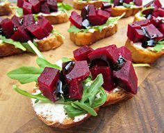 Beet Salad Bruschett