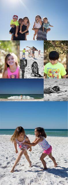 Panama City Beach Family Photo - Choose fun colors and comfortable clothes when planning your family beach photos  adriapeaden.com