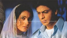 Shah Rukh & Kajol as Rahul & Anjali in Kabhi Khushi Kabhie Gham (2001)